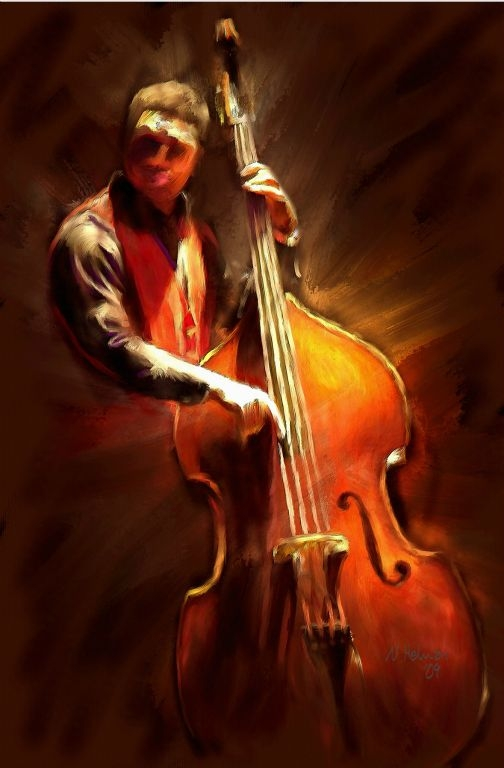 Standup Bass Player