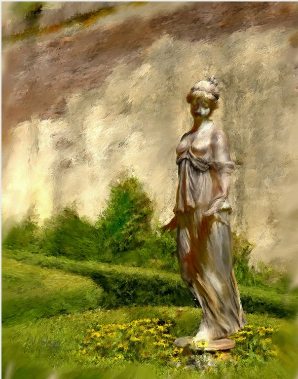 Rosedown Statue