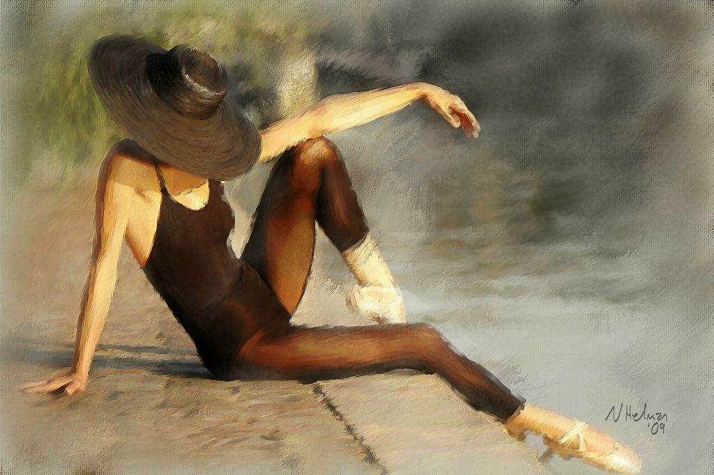 Dancer At The Waters Edge